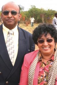 Ebenezer Ranji and Nage Chara