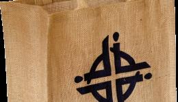 WWDP Logo Hessian Bag - £5.00 each