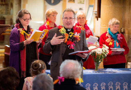 Womens World Day of Prayer  - The service at East Hoathly Church lead by Barbara Aucock and introduced by Rector Phil Hodgins  04/03/16Picture by Jim Holden