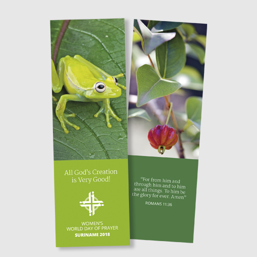 Suriname Bookmark 2018