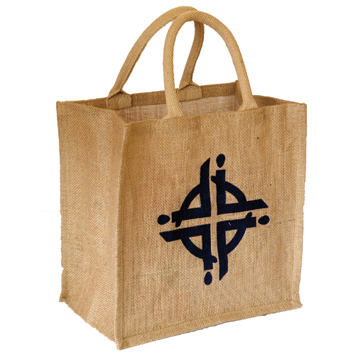 WWDP Logo Hessian Bag
