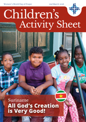 Children's Activity Sheet