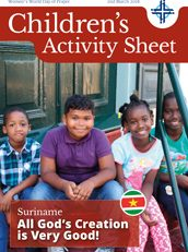 Childrens Activity Sheet