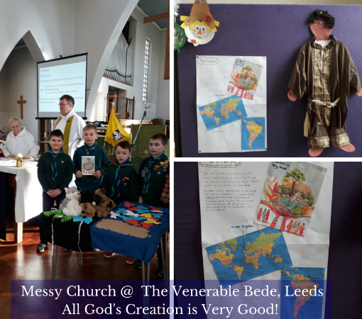 Messy Church, The Venerable Bede, Leeds