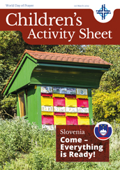2019 Children's Activity Sheet