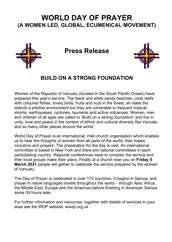 2021 Press Release