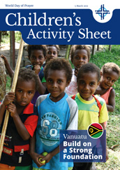 2021 Children's Activity Sheet