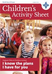 2022 Children's Activity Sheet